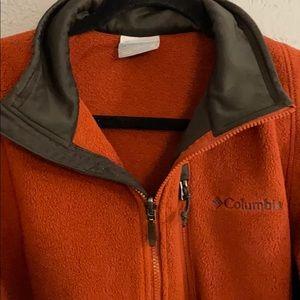 Columbia Men's fleece zip up jacket